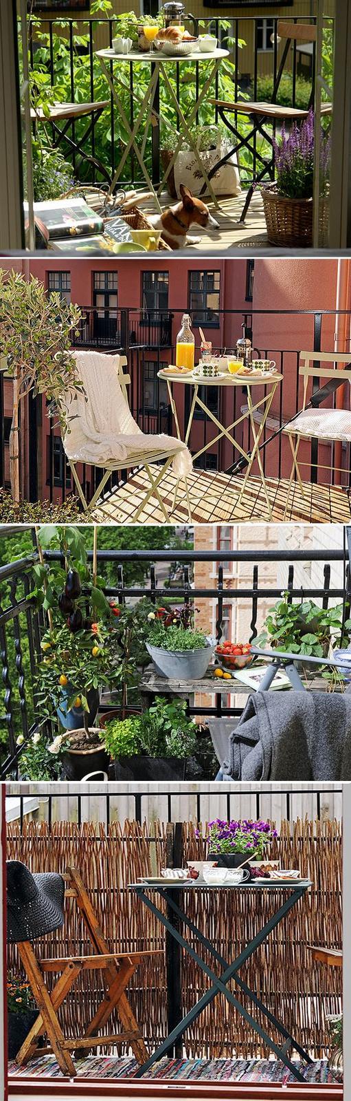 Balkony a malé terasy - Obrázek č. 62