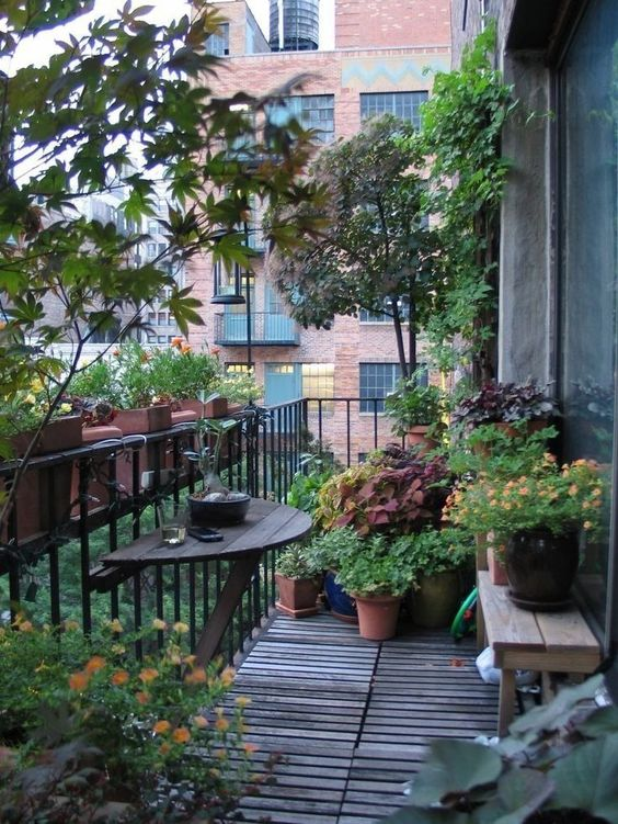 Balkony a malé terasy - Obrázek č. 69