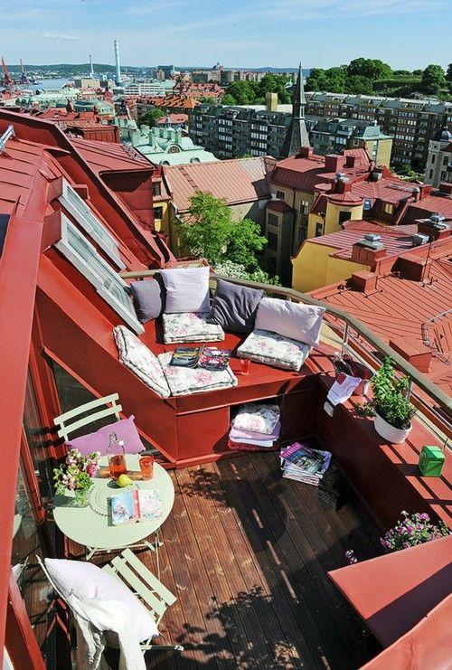 Balkony a malé terasy - Obrázek č. 82