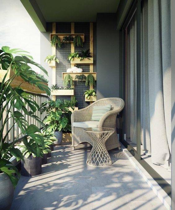 Balkony a malé terasy - Obrázek č. 99