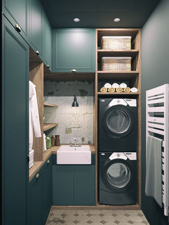 Prádelna,technická místnost,úklidová komora....prostě-kam s tím? - Obrázek č. 179