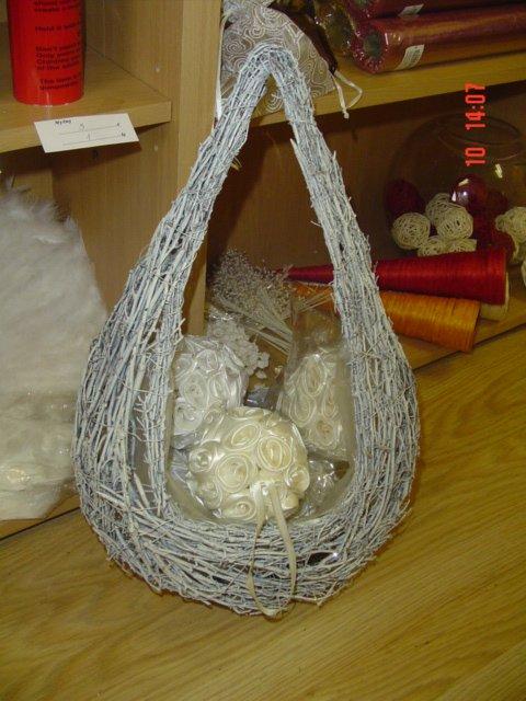 Začínema juchuuuu - košíček na lupienky