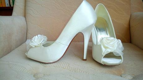 Satenové topánky - Obrázok č. 1