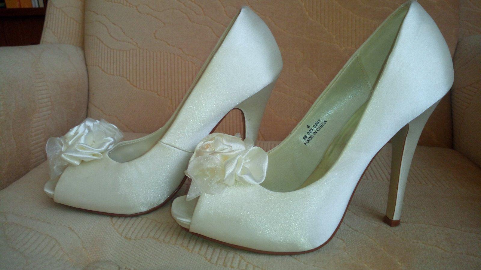 Satenové topánky - Obrázok č. 2