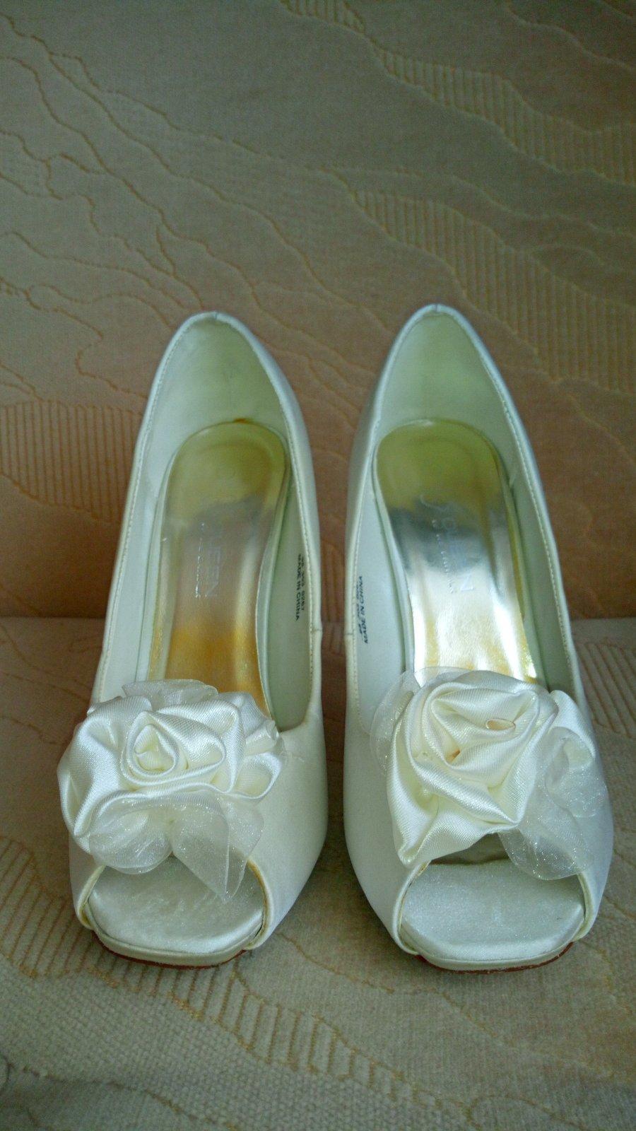 Satenové topánky - Obrázok č. 3