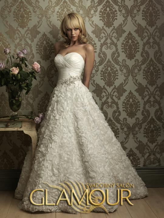 COLLECTION 2012  - salón GLAMOUR! :) - ALLURE BRIDALS model Carmen