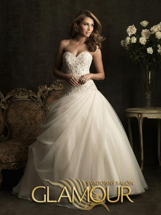 COLLECTION 2012  - salón GLAMOUR! :) - ALLURE BRIDALS model Dior