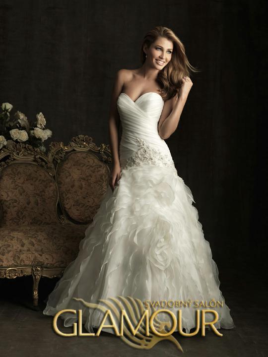 COLLECTION 2012  - salón GLAMOUR! :) - ALLURE BRIDALS model Hayley