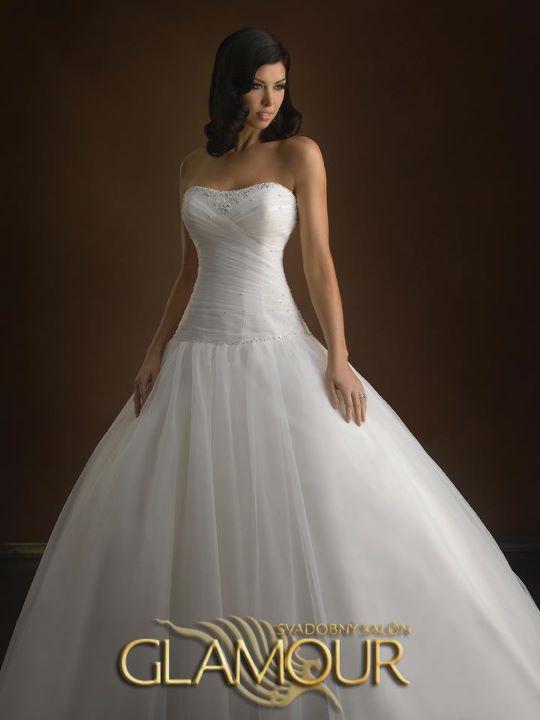 COLLECTION 2012  - salón GLAMOUR! :) - ALLURE BRIDALS model Peyton