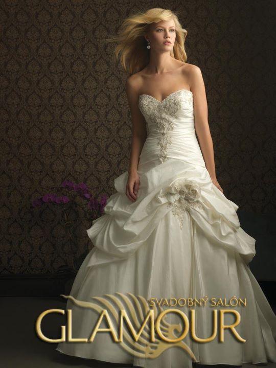 COLLECTION 2012  - salón GLAMOUR! :) - ALLURE BRIDALS model Latoya