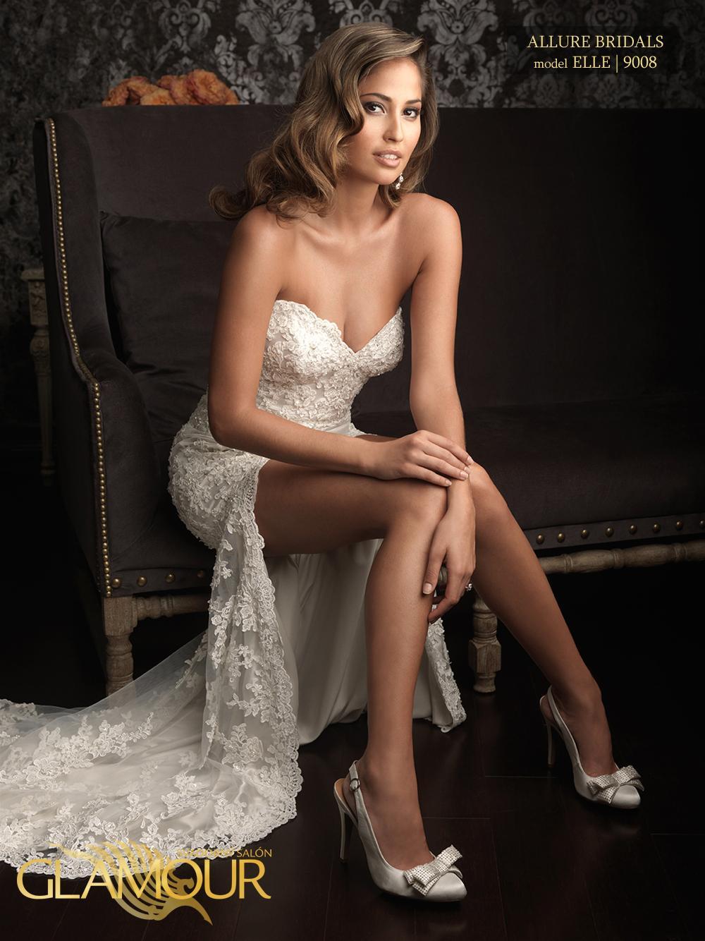 Nova kolekcia Allure Bridals 2014 - Allure Bridals model Elle