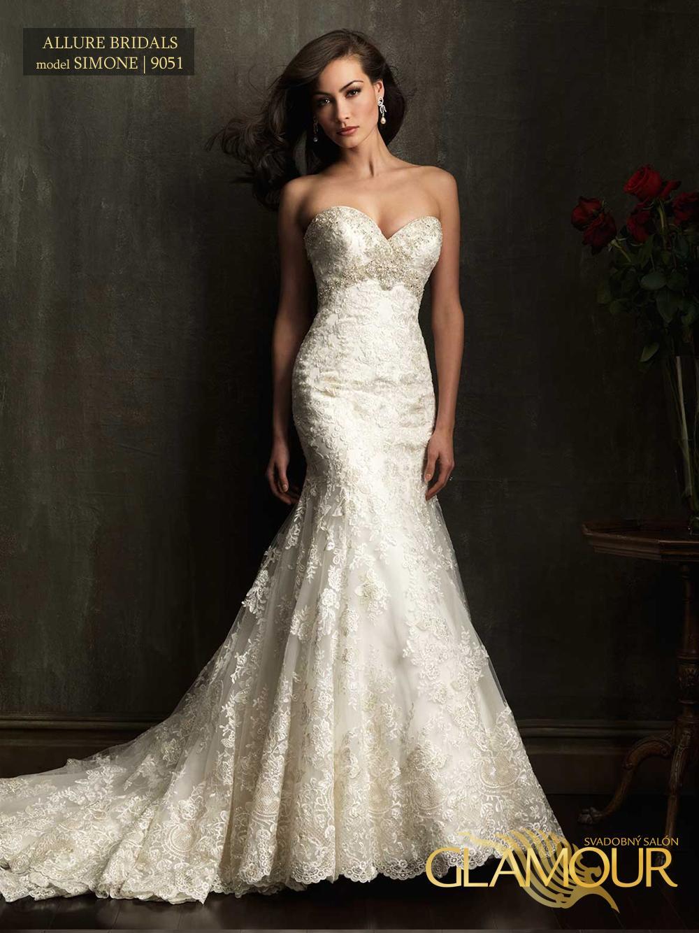 Nova kolekcia Allure Bridals 2014 - Allure Bridals model  Simone