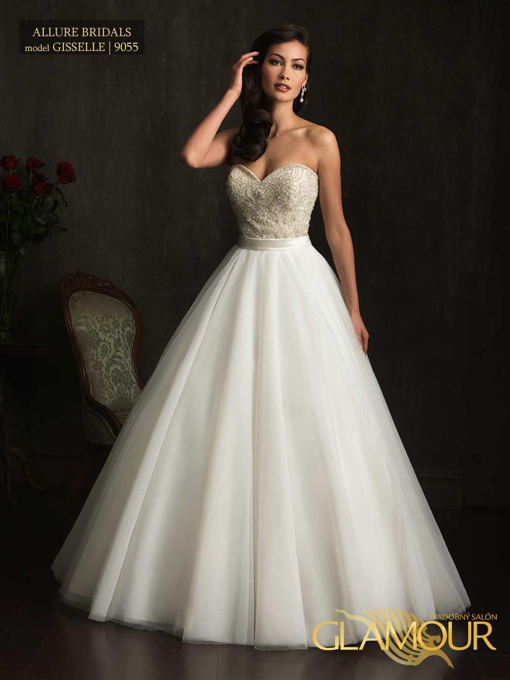 Nova kolekcia Allure Bridals 2014 - Allure Bridals model Gisselle