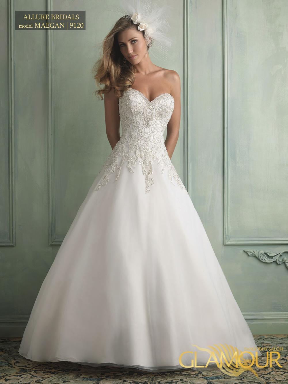 Nova kolekcia Allure Bridals 2014 - Allure Bridals model Maegan