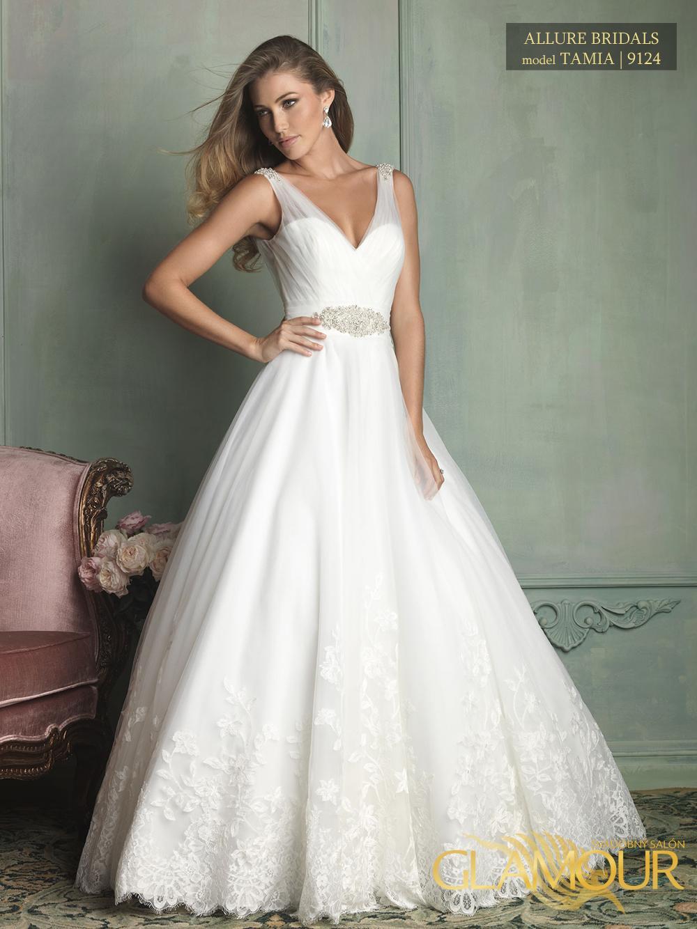Nova kolekcia Allure Bridals 2014 - Allure Bridals model Tamia