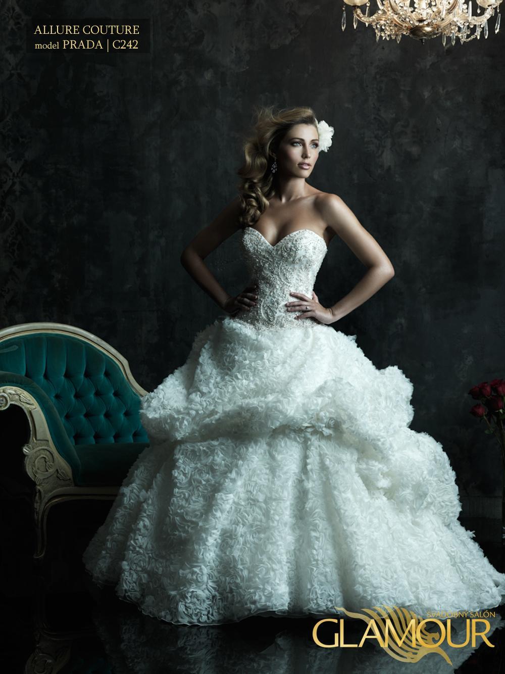 Nova kolekcia Allure Bridals 2014 - Allure Bridals model Prada