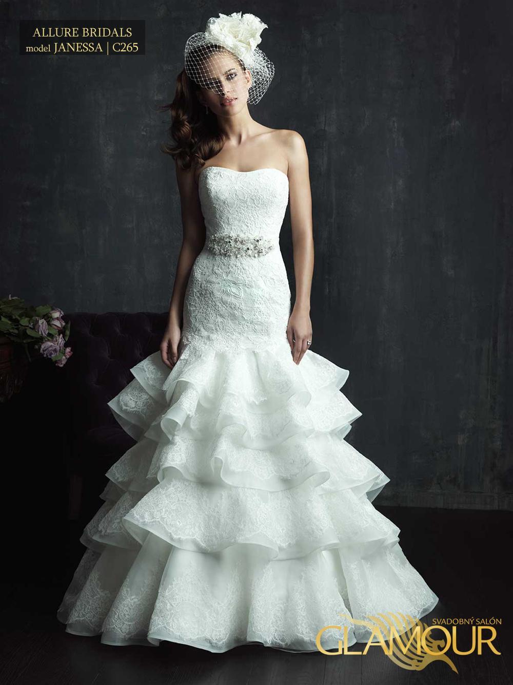Nova kolekcia Allure Bridals 2014 - Allure Bridals model Janessa