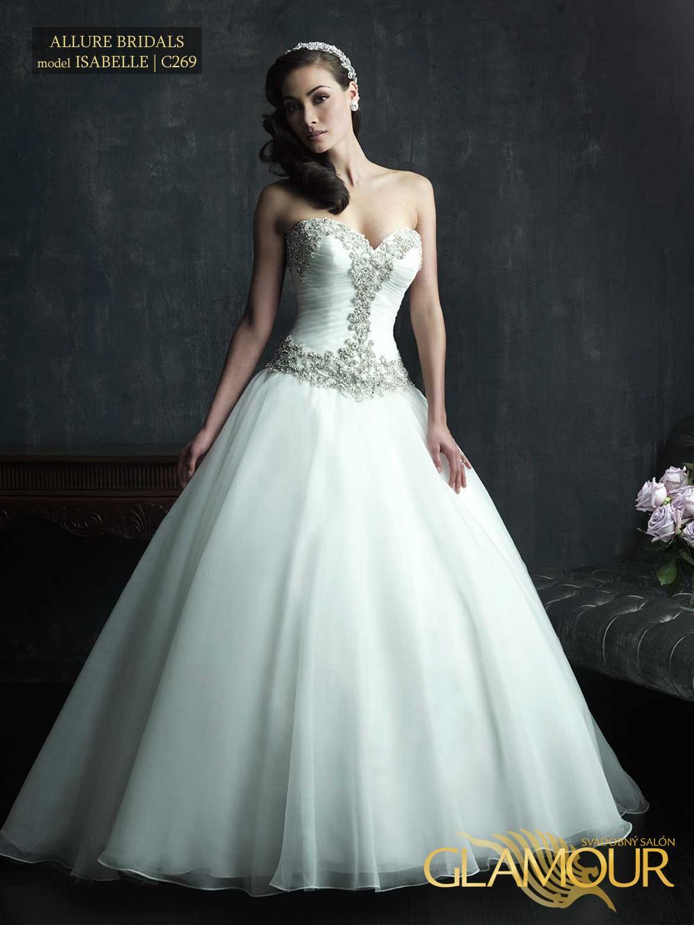 Nova kolekcia Allure Bridals 2014 - Allure Bridals model Isabelle