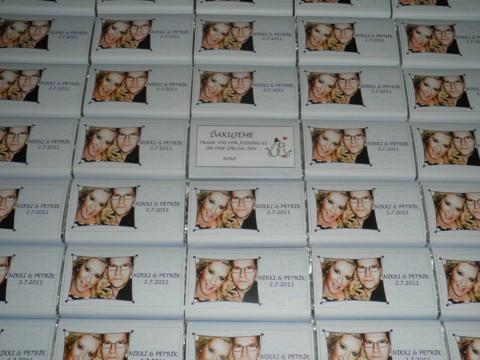 ... už sa to blíži ... 2.júl 2011 :-)))) - Cokoladky pre hosti ;-) --- uz vyrobene ;-)