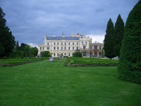 A zámecká zahrada