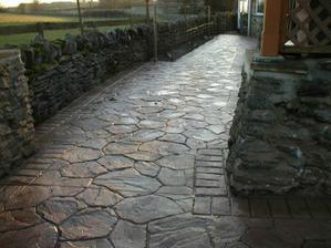 dekorativní ražený beton Condecor-kámen