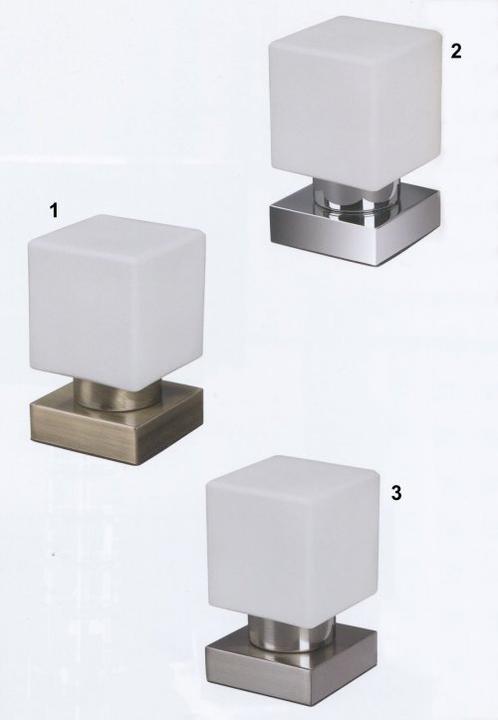 Osvětlení - stolní lampička 10x10x16,8