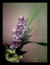 K zásnubám...orchidej, krása... (akorát foto nekvalitní, foceno ještě mobilem)