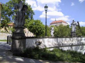 Zámek v Námešti nad Oslavou.