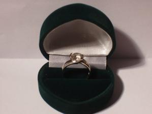 môj zásnubný prstienok