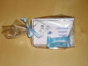 sladký dárek pro svatebčany:-)