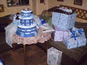 papírový dortík