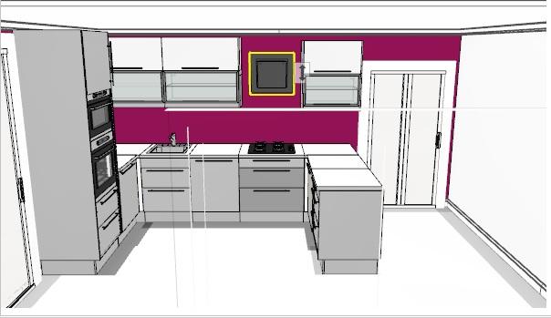 Projekt - návrh z Ikei, cena vč. spotřebičů 122tis. - jsem rozhodnutá