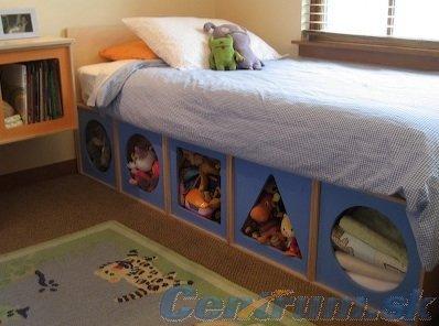 Detská izba...čo sa mi páči - Úložné priestory... tých nikdy nie je dosť :-)