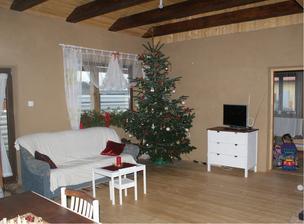 prvé Vianoce v sice nedokončenom, ale novom dome, si zaslúžia poriadny 3m stromisko :D
