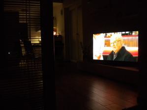 TV z terasy
