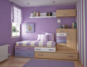 detska izba - dobre rozlozenie, usporne - farby uz eee