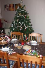 náš štedrovečerný stôl minulý rok...