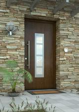 pekná farebná kombinácia - aj dvere a aj obklad krásny!!