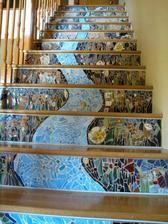 nádherné schody... aj keď - chcem iba prízemný dom, takže ništ... :D