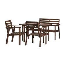 Stůl, lavice a dvě křesla TULLERÖ, Ikea