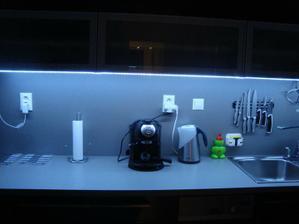 LED svetielko v kuchyni