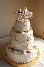 Svadba pri mori? Aká by mohla byť ešte lepšia torta...?