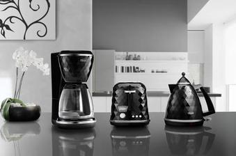 DeLonghi-Breakfast Series Brillante-černá