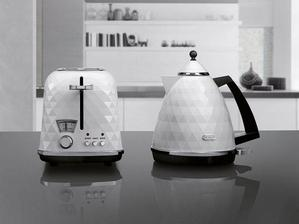DeLonghi-Breakfast Series Brillante-bílá