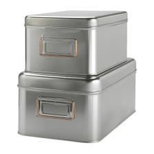 Praktické krabičky v podstatě nacokoliv. Potřebovala bych bílé, černé nebo zelené.