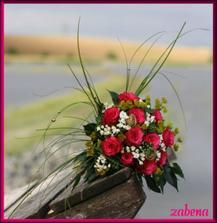 realita - moje svatební kytice