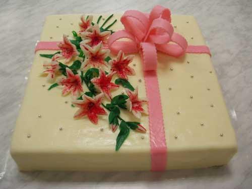 Objednaný dort pro maminku