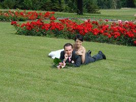 Zde bude svatba, v Růžovém sadě