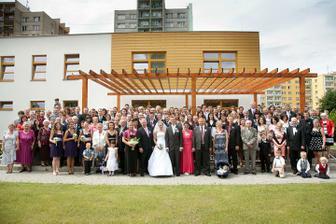 Všichni, co byli ve svatební den s námi!