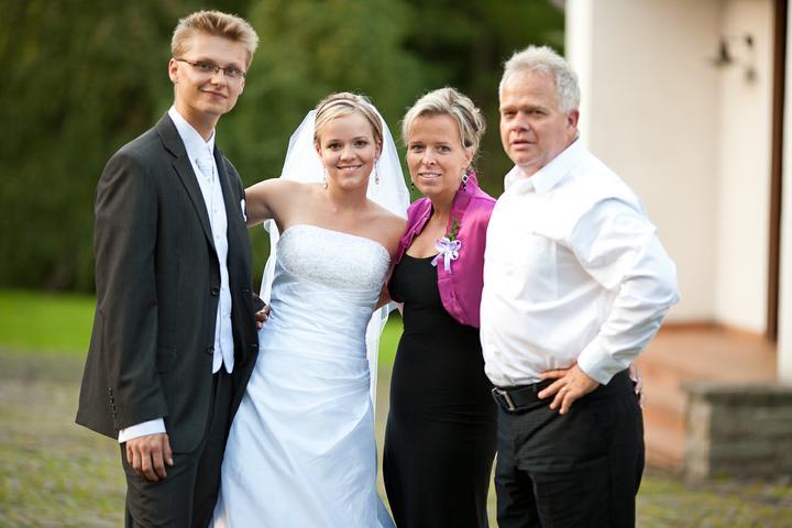 Alžběta{{_AND_}}Jakub - Foto s mými drahými rodiči
